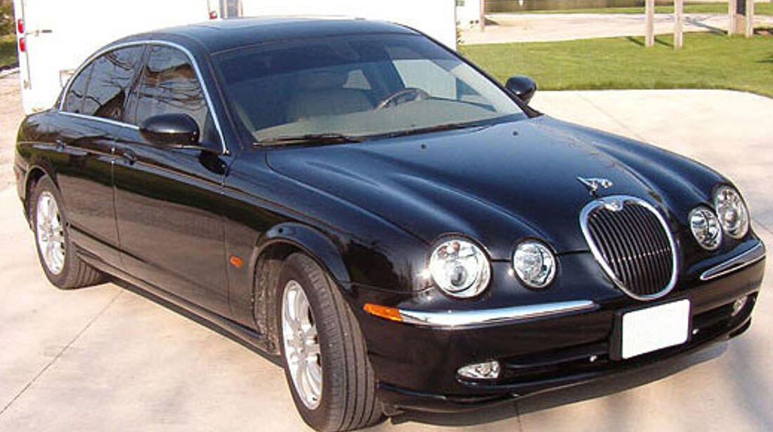 2003er Jaguar S Type 4D