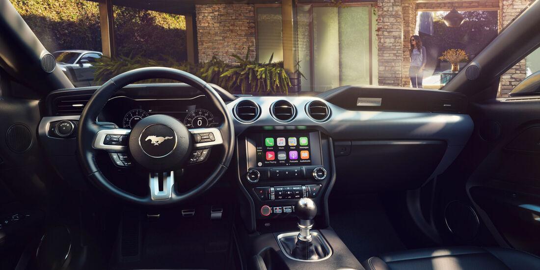 2017 Ford Mustang - Muscle Car - Lenkrad - Innenraum