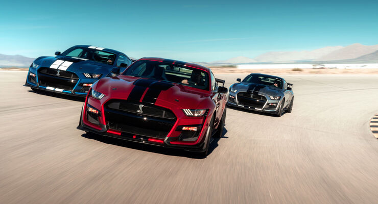 mustang shelby gt500 2019 pony car mit ber 700 ps. Black Bedroom Furniture Sets. Home Design Ideas