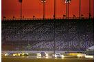 24h Daytona, Abenddämmerung, Rennszene