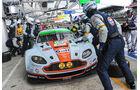 24h Le Mans, Aston Martin, Boxenstopp