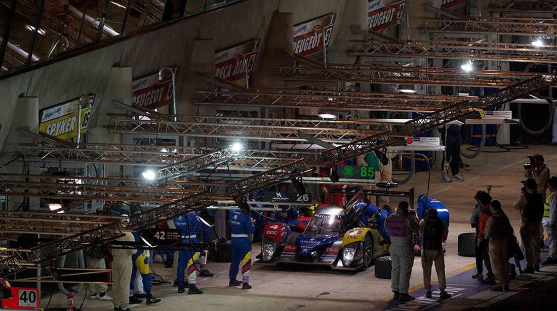 24h Le Mans Nacht