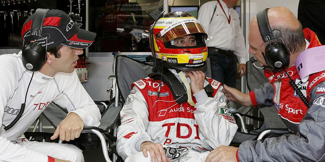 24h Le Mans Timo Bernhard Wolfgang Ullrich Mike Rockenfeller