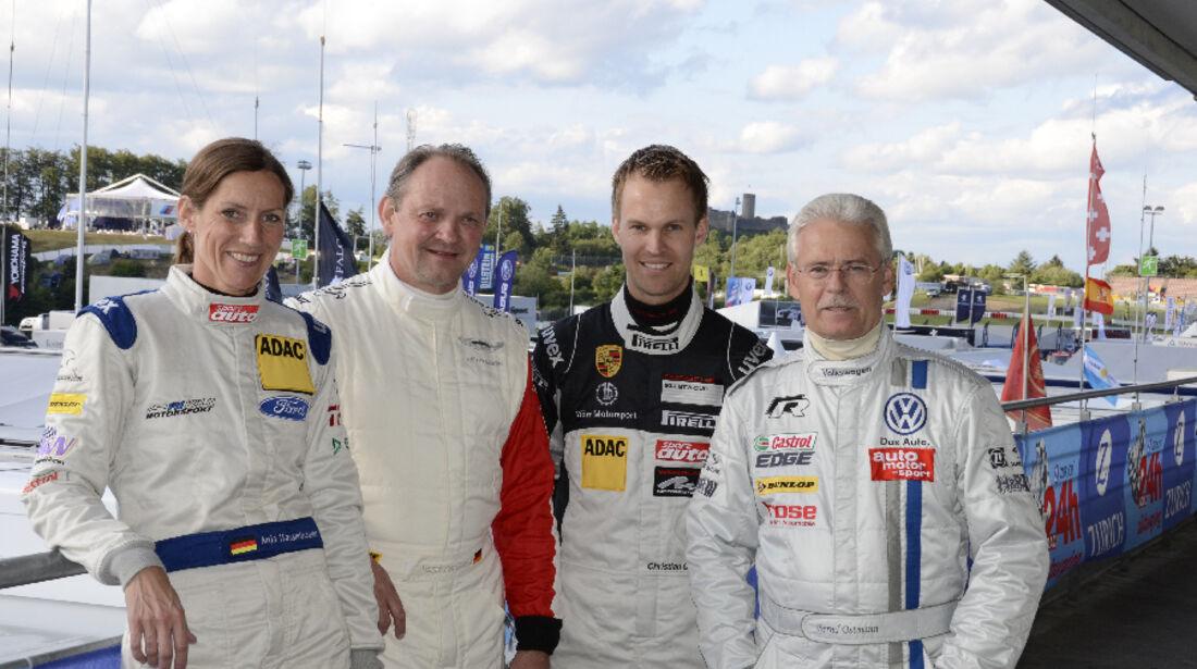 24h Nürburgring 2011 Anja Wassertheurer Horst von Saurma Christian Gebhardt Bernd Ostmann