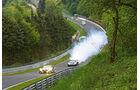 24h-Nürburgring, McLaren MP4-12C GT3, Motorschaden