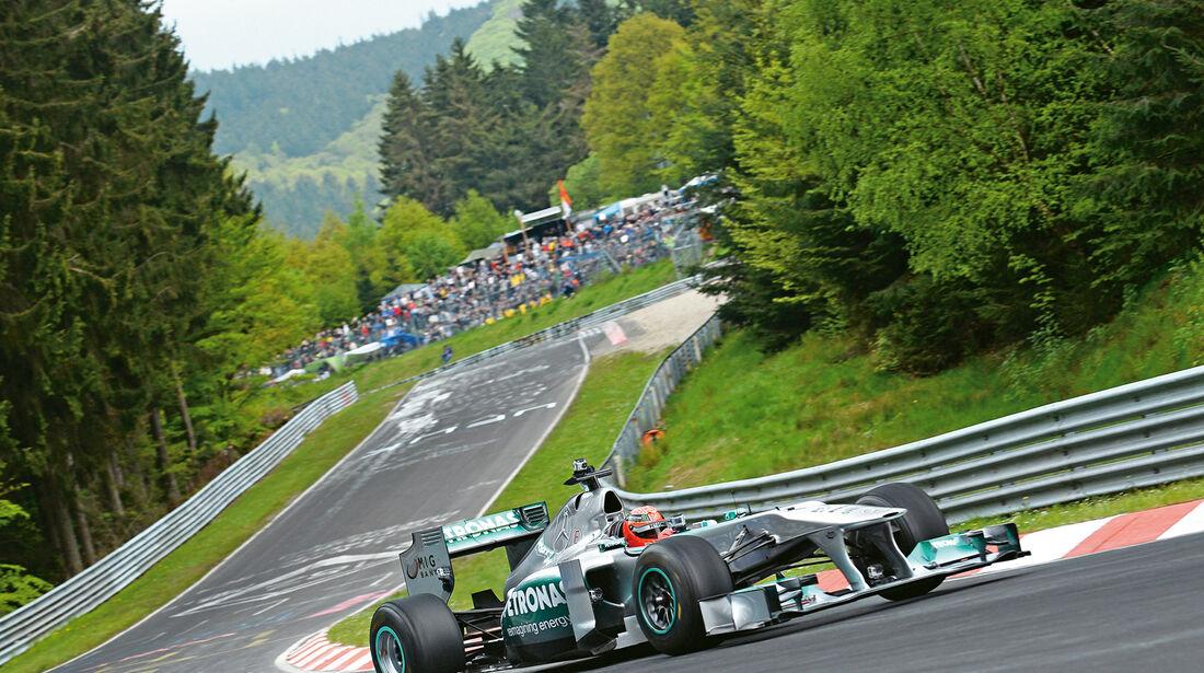 24h-Nürburgring, Mercedes Formel 1
