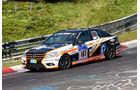 24h-Nürburgring - Nordschleife - Mercedes-Benz C 230 - Team Autoarena Motorsport - Klasse V 4 - Startnummer #161
