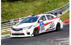 24h-Nürburgring - Nordschleife - Toyota Corolla Altis - Toyota Team Thailand - Klasse SP 3 - Startnummer #123