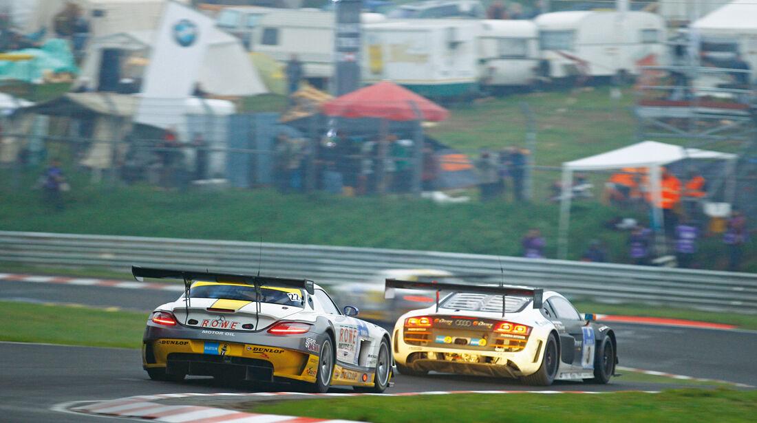 24h-Nürburgring, Rowe Racing, Rennszene