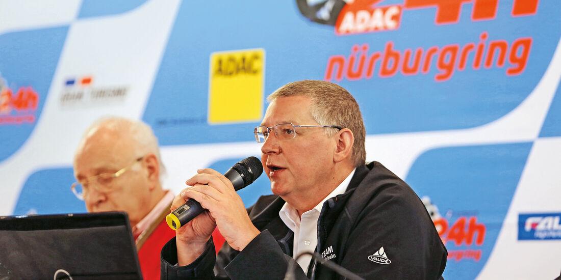 24h-Nürburgring, Walter Hornung