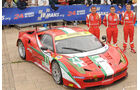 24h-Rennen LeMans 2012,Ferrari 458 Italia, No.71, LMGTE Pro