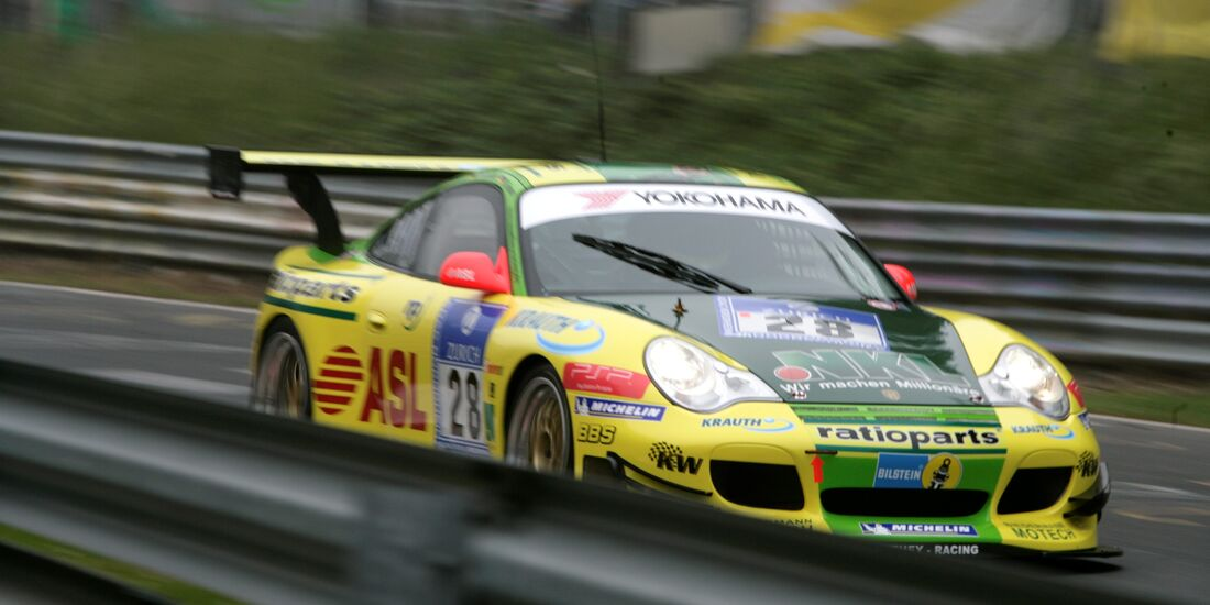 24h-Rennen Nürburgring 2006 Manthey Racing Porsche 991 GT3