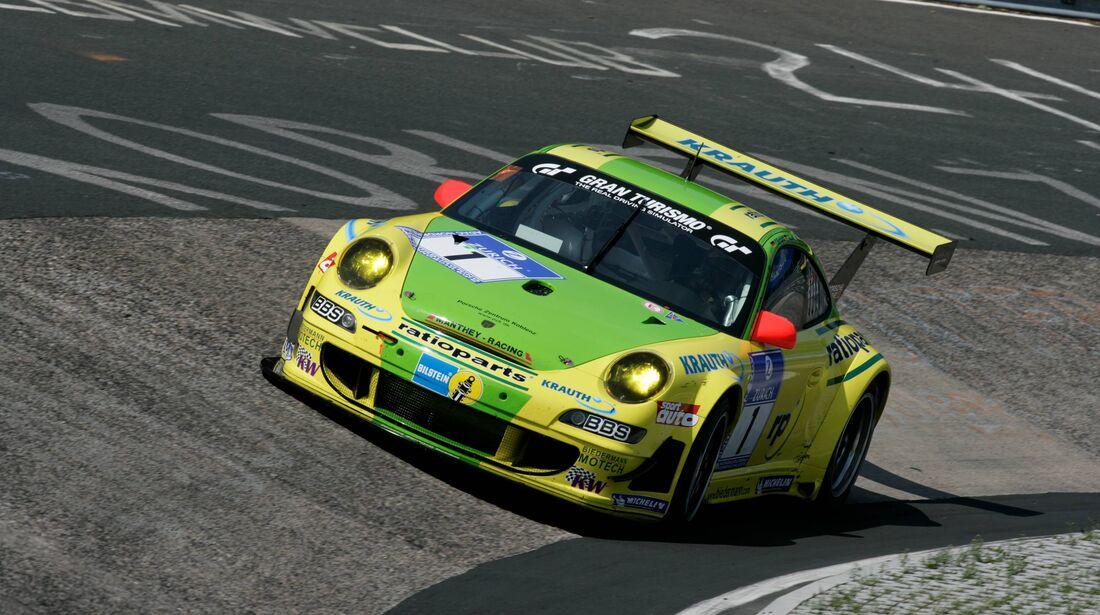 24h-Rennen Nürburgring 2007 Manthey Racing Porsche 991 GT3