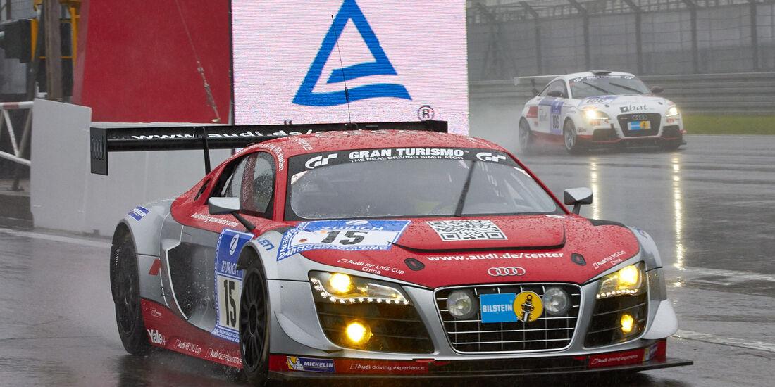 24h-Rennen Nürburgring 2013, Audi R8 LMS ultra , SP 9 GT3, #15