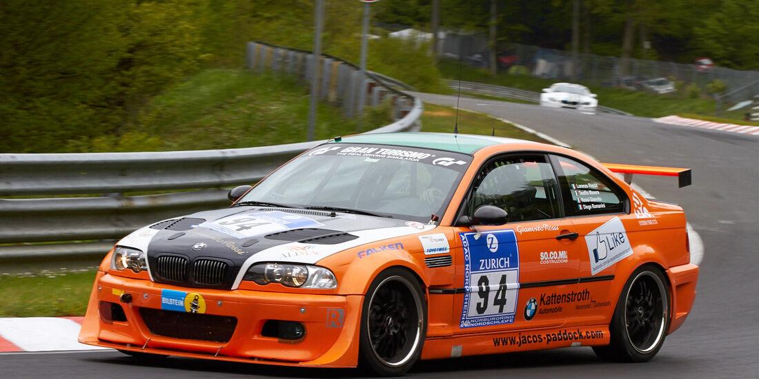 24h-Rennen Nürburgring 2013, BMW E46 M3 , SP 6, #94