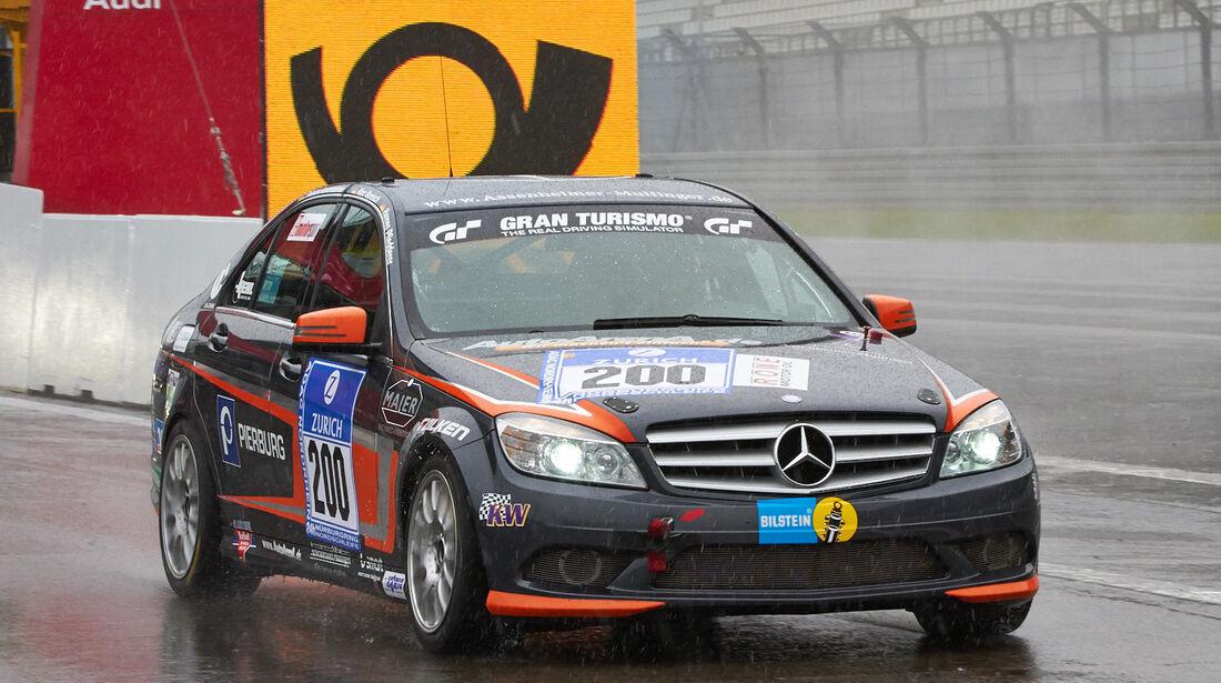 24h-Rennen Nürburgring 2013, Mercedes-Benz C 230 , V4, #200