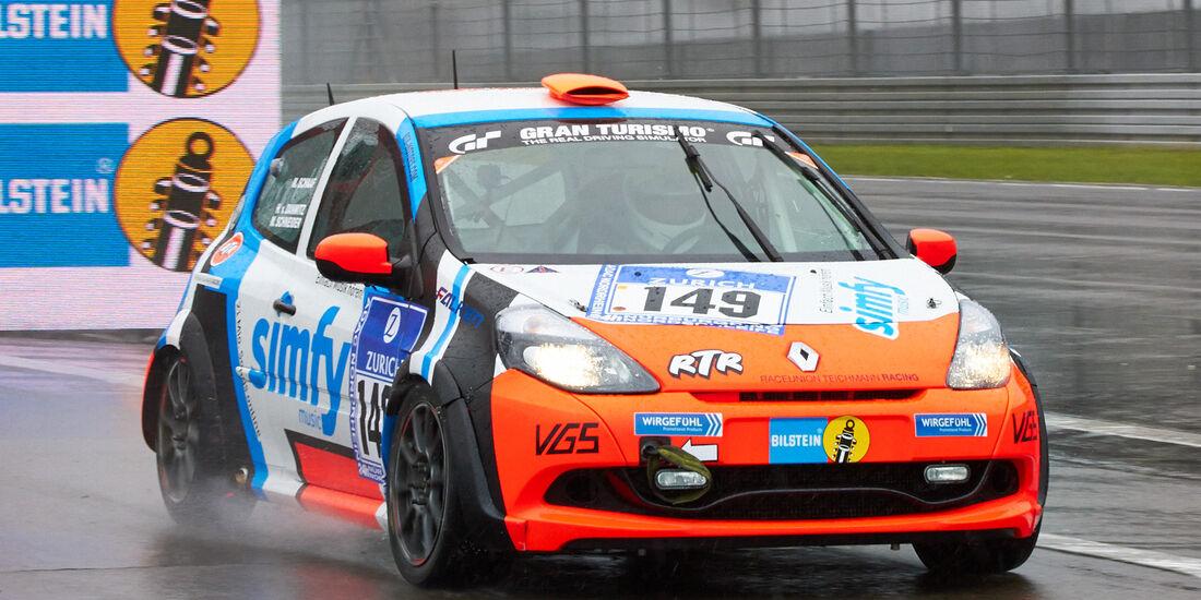 24h-Rennen Nürburgring 2013, Renault Clio , SP 3, #149