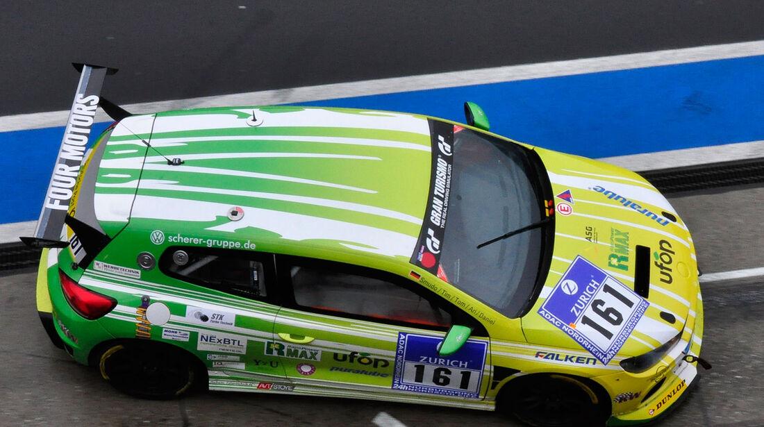 24h-Rennen Nürburgring 2013, Volkswagen Scirocco TDI , AT, #161