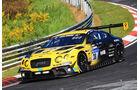 24h-Rennen Nürburgring 2017 - Nordschleife - Startnummer 38 - Bentley Continental GT3 - Bentley Team Abt - Klasse SP 9 LG