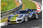 24h-Rennen Nürburgring 2017 - Nordschleife - Startnummer 72 - Porsche Cayman GT 4 - Black Falcon Team TMD Friction - Klasse SP 10