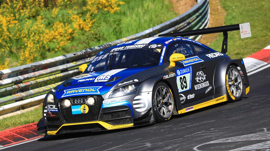 24h-Rennen Nürburgring 2017 - Nordschleife - Startnummer 89 - Audi TT RS 2 - LMS Engineering - Klasse SP 3T