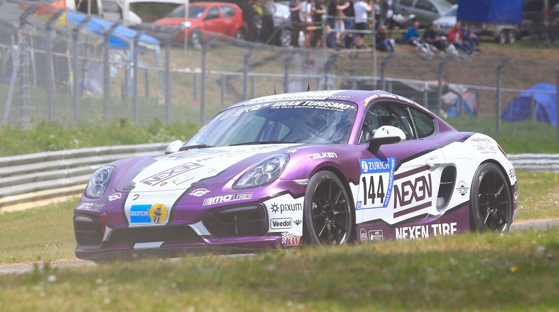 24h-Rennen Nürburgring 2018 - Nordschleife - Startnummer #144 - Porsche Cayman - Pixum Team Adrenalin Motorsport - V5