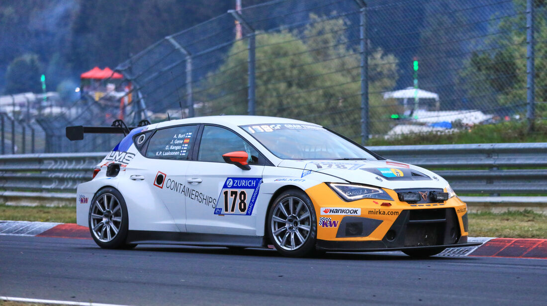 24h-Rennen Nürburgring 2018 - Nordschleife - Startnummer #178 - Seat Cupra TCR - LMS Racing by Bas Koeten Racing - TCR