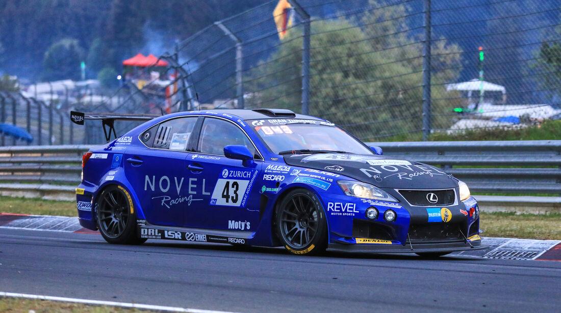 24h-Rennen Nürburgring 2018 - Nordschleife - Startnummer #43 - Lexus ISF CCS-R - Novel Racing - SP8