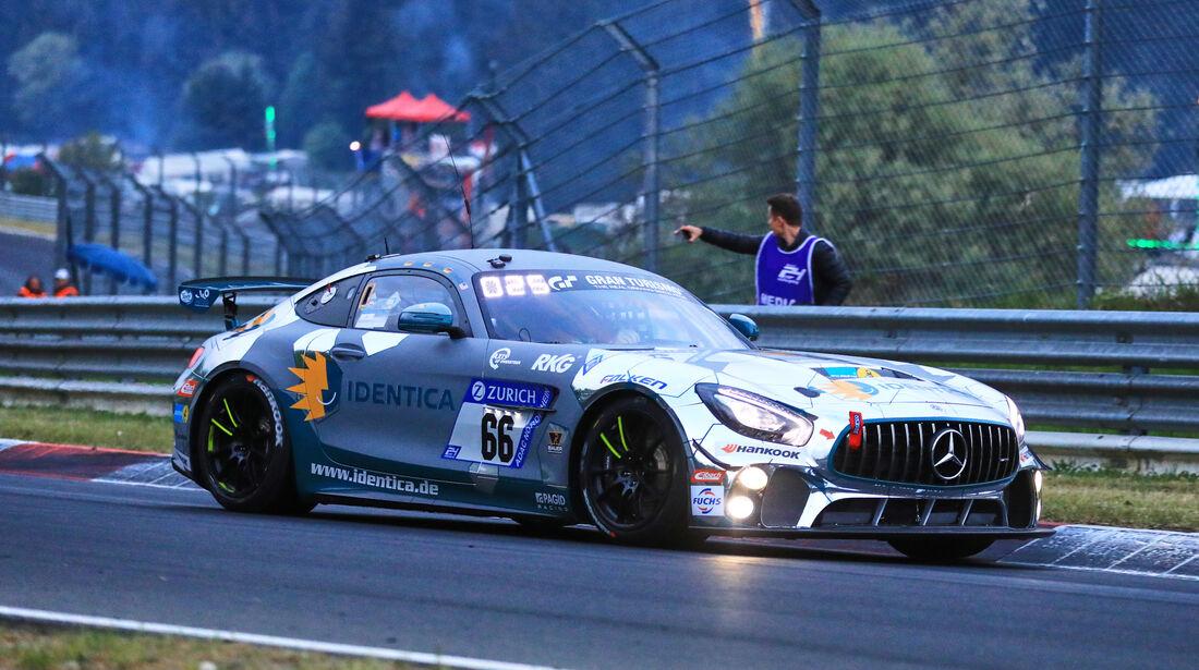 24h-Rennen Nürburgring 2018 - Nordschleife - Startnummer #66 - Mercedes-AMG GT4 - Black Falcon Team Identica - SP10