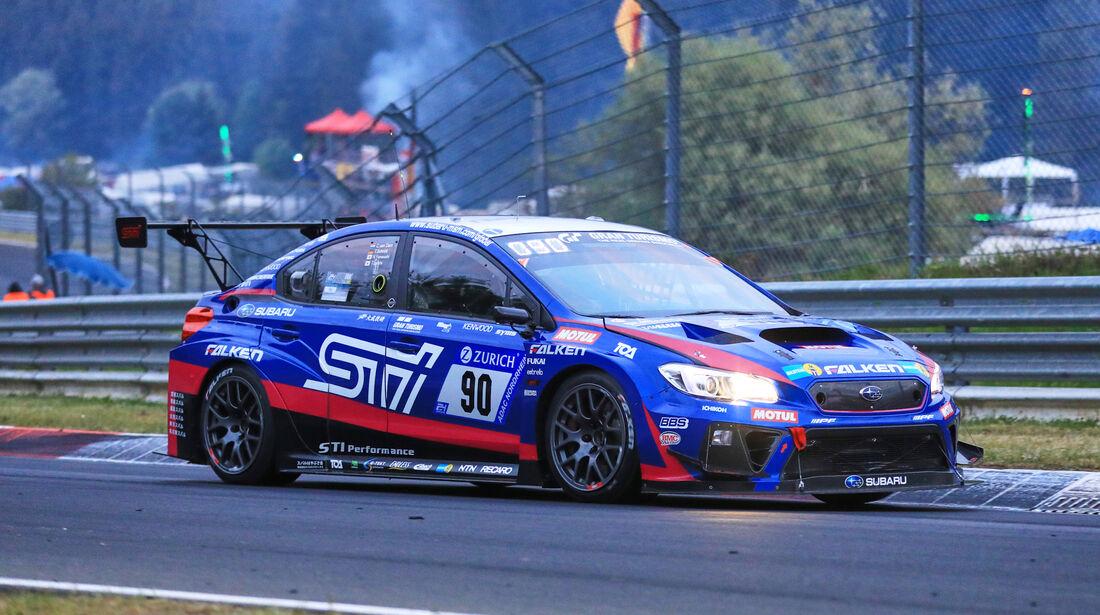 24h-Rennen Nürburgring 2018 - Nordschleife - Startnummer #90 - Subaru WRX STI - Subaru Tecnica International INC - SP3T