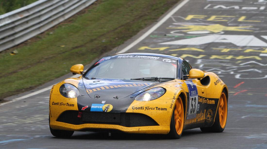 24h Rennen Nürburgring Sonntag Artega GT