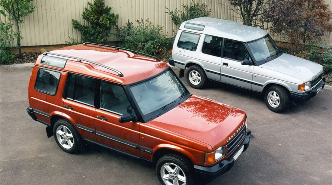 25 Jahre Land Rover Discovery, Discovery I/II