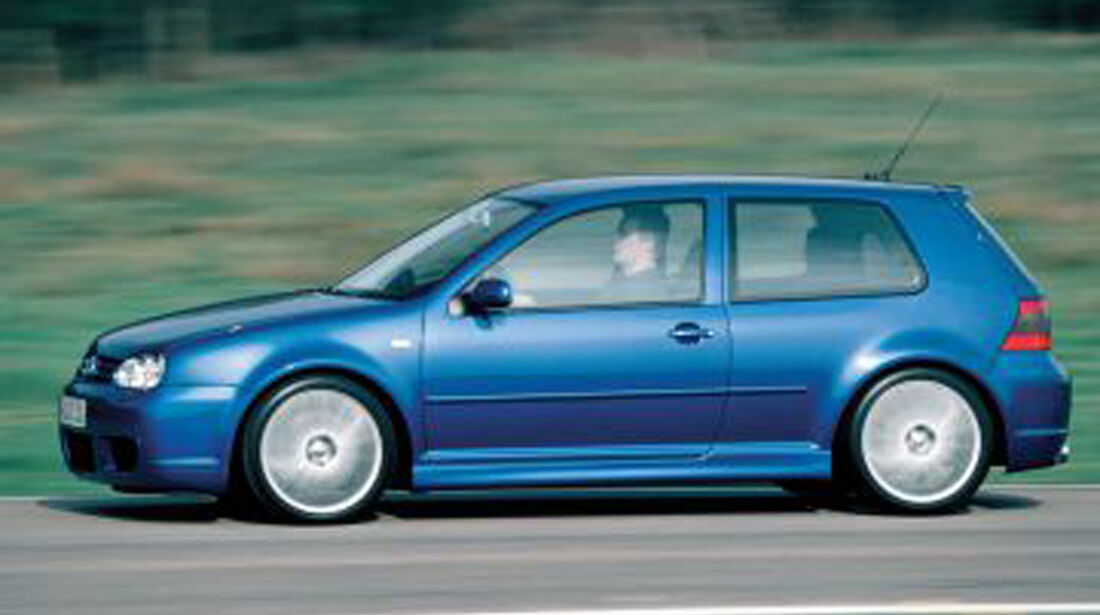 40 Jahre VW Golf, Golf R32