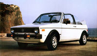 40 Jahre VW Golf, Rabbit Convertible