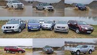 4WF Pickup-Vergleichstest 2014