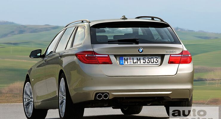 5er BMW Touring- Computerretusche