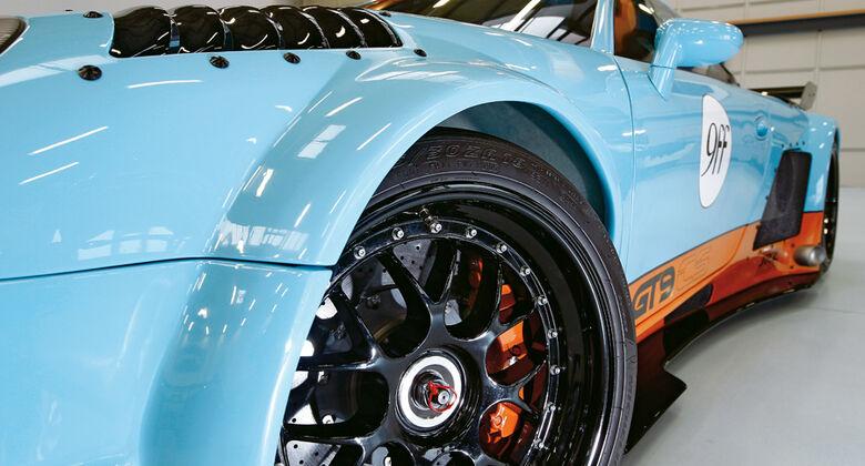 9ff GT9-CS, Felge, Rad