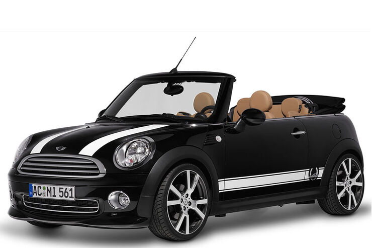 mini cabrio tuning von ac schnitzer auto motor und sport. Black Bedroom Furniture Sets. Home Design Ideas
