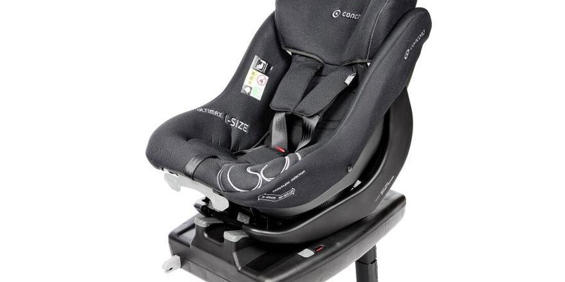 ADAC/ÖAMTC Kindersitz-Test Frühjahr 2018 Concord-Ultimax-i-Size