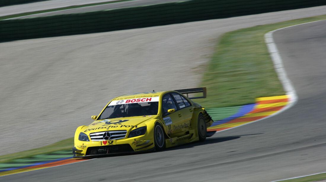 AMG Mercedes bei der DTM in Valencia  - David Coulthard