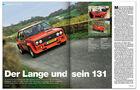 AMS Heft 2 2014 Leserauto Fiat 131 Abarth
