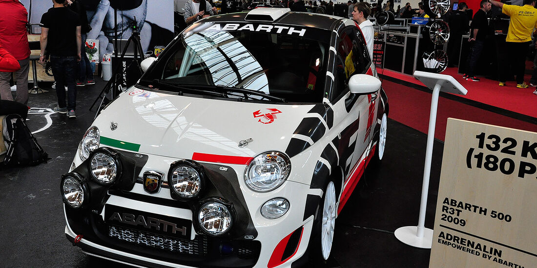 Abarth 500 R3T, Tuning World Bodensee 2014