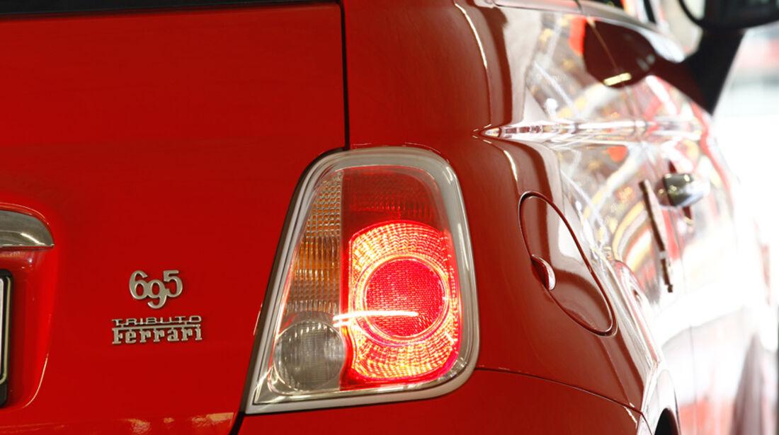 Abarth 695 Tributo Ferrari, Rücklichter