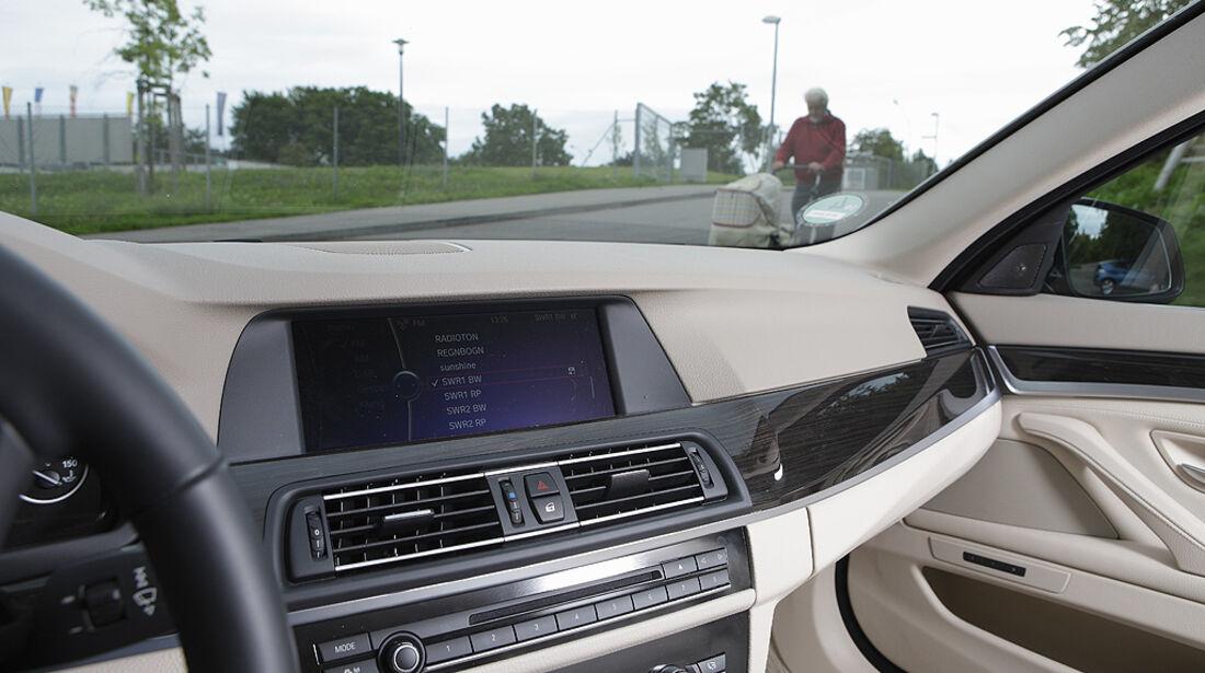 Abbiegesicht, BMW 5er Touring