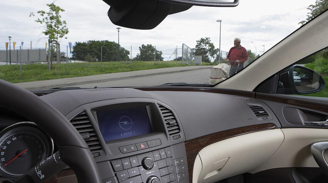 Abbiegesicht, Opel Insignia Sports Tourer