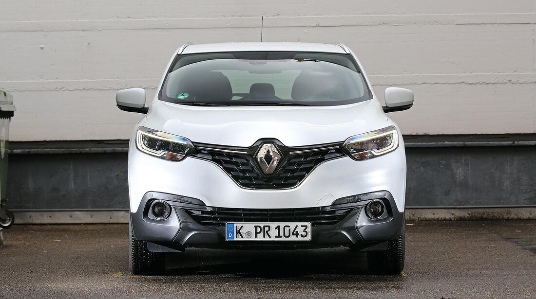 Abgasmessung, Renault Kadjar 1.2 Tce 130