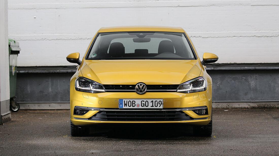 Abgasmessung, VW Golf 2.0 TDI