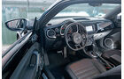 Abt-VW Beetle 2.0 TSI, Cockpit, Lenkrad