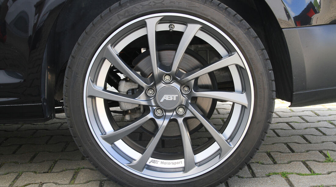 Abt eCaddy - Elektro-Caddy - VW - Elektromobilität - Elektrofahrzeug - Elektroauto - E-Mobilität - Deutsche Post - Felgen