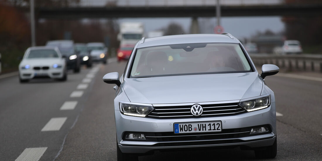 Adaptive Tempomaten, VW Passat